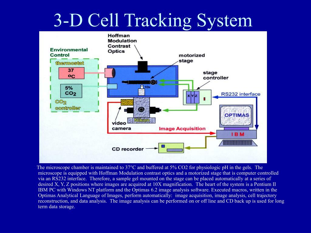 3-D Cell Tracking System