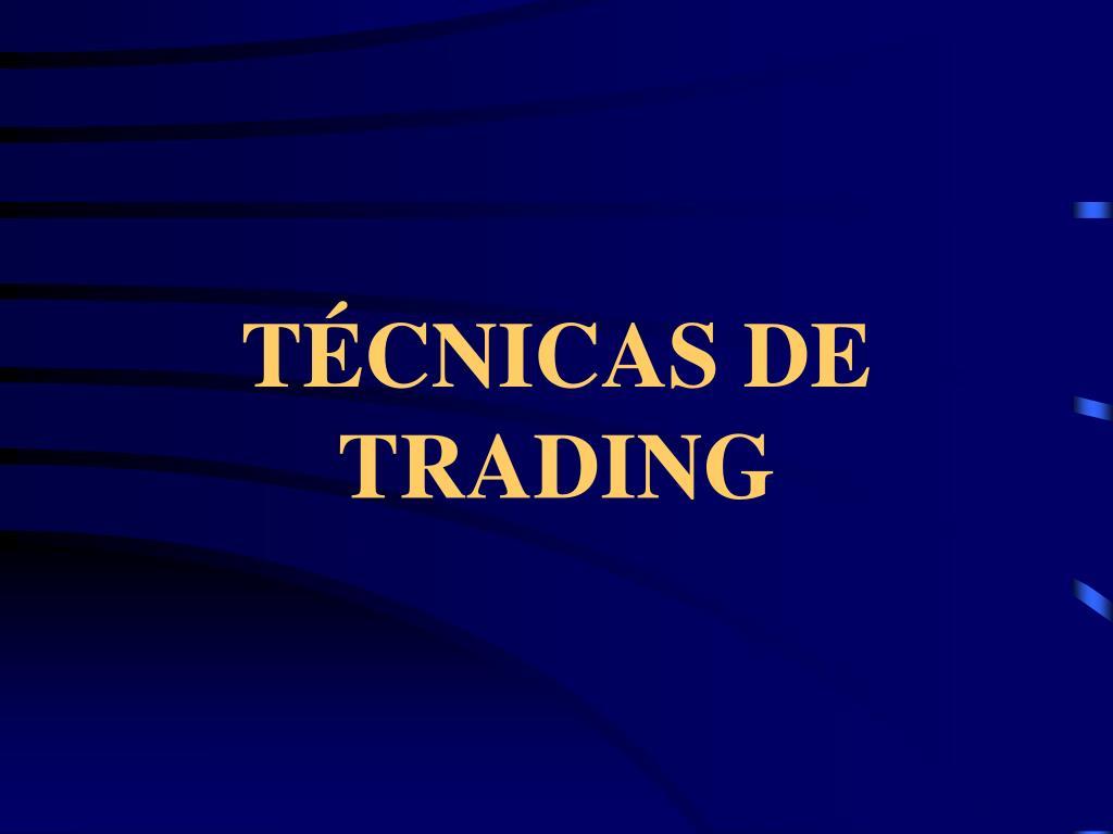 t cnicas de trading l.