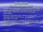 the present where are we now1