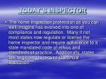 today s inspector