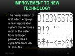 improvement to new technology