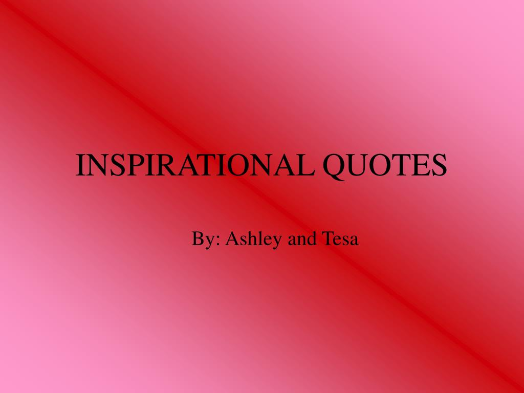 inspirational quotes l.