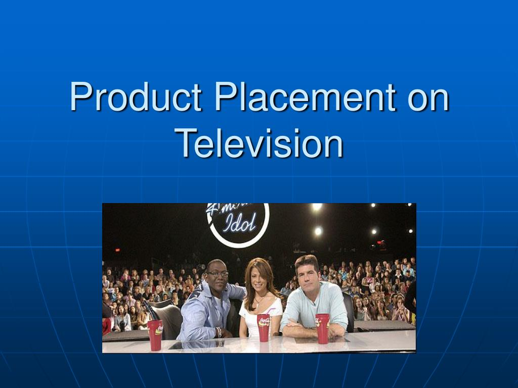 product placement on television l.