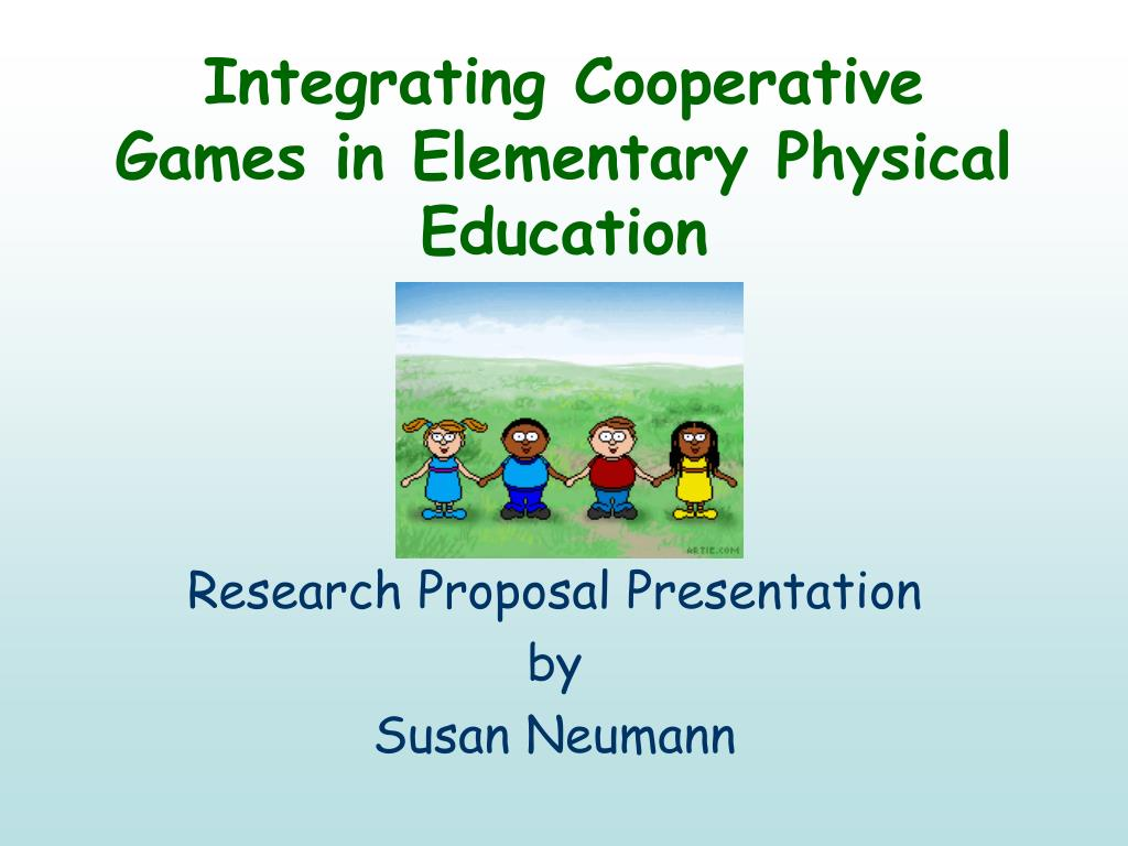 integrating cooperative games in elementary physical education l.