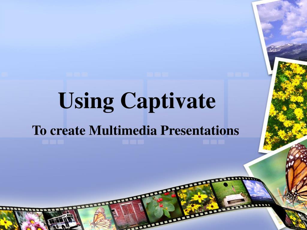 using captivate l.