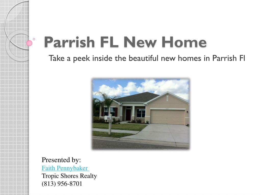 parrish fl new home l.