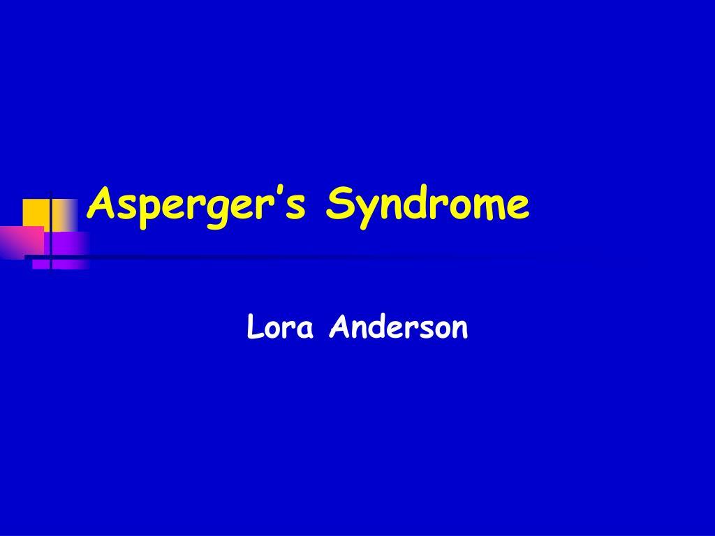 asperger s syndrome l.