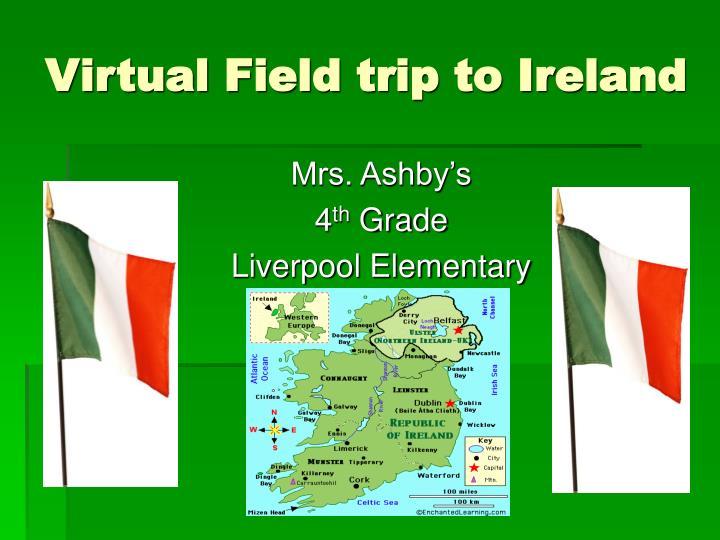 virtual field trip to ireland n.