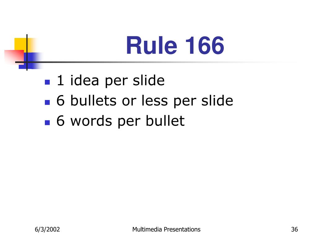 Rule 166