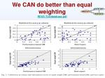 we can do better than equal weighting ress tuddatabase pdf