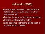 ashworth 2006