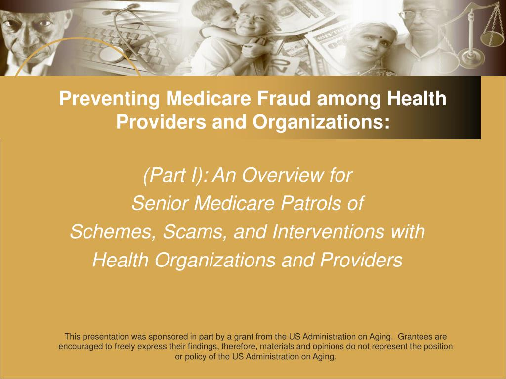 preventing medicare fraud among health providers and organizations l.