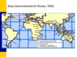 early intercontinental air routes 1930s