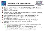 european grid support centre