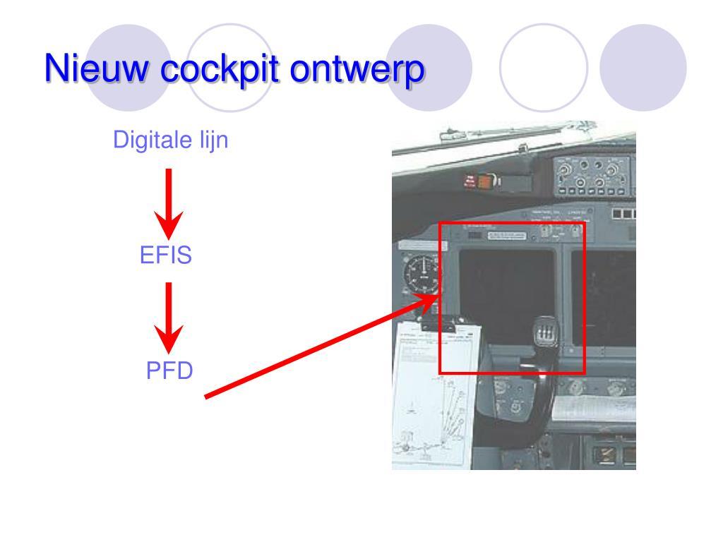 Nieuw cockpit ontwerp