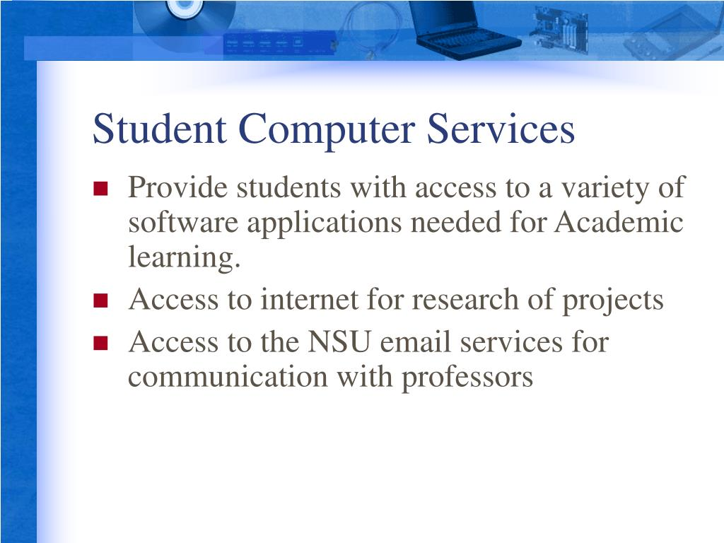Student Computer Services