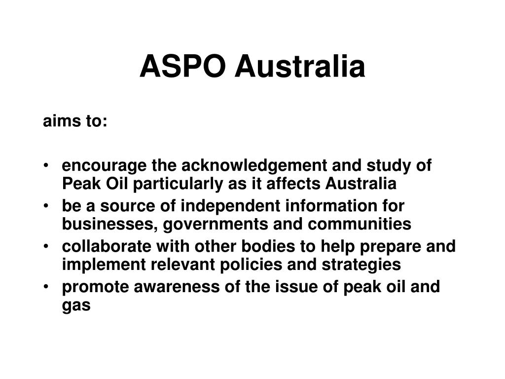 ASPO Australia