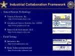 industrial collaboration framework