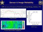 sensor image reliability