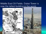 middle east oil fields dubai tower is now the tallest building in the world