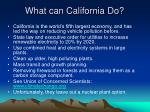 what can california do