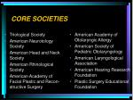 core societies