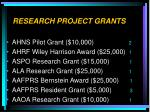 research project grants8