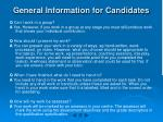 general information for candidates3