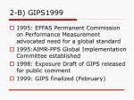 2 b gips1999