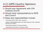4 c gips country sponsors