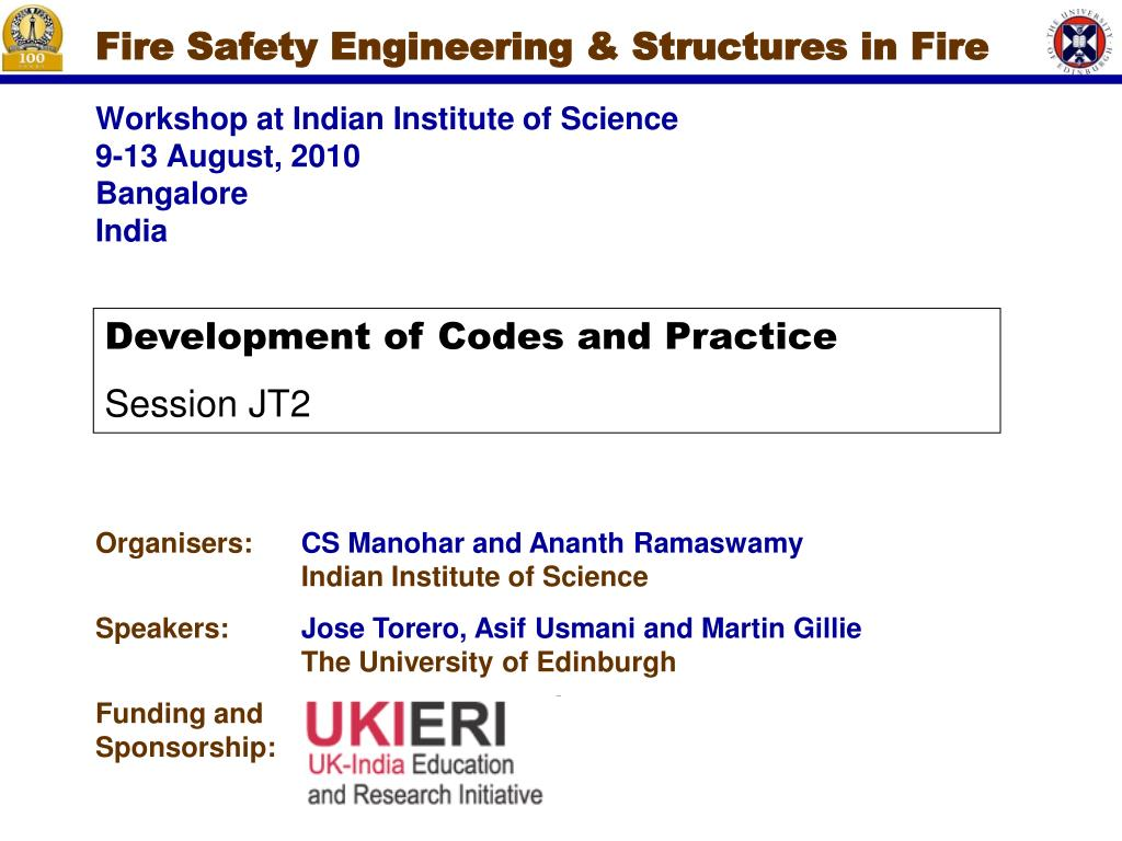 fire safety engineering structures in fire l.