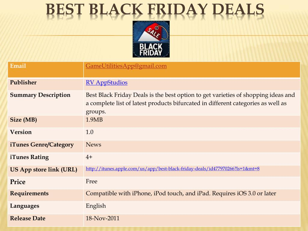 best black friday deals l.