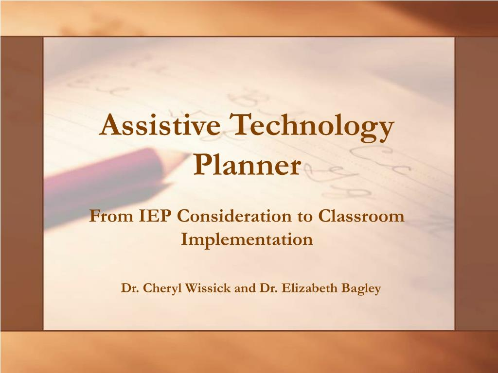 assistive technology planner l.