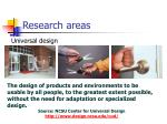 research areas13