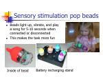 sensory stimulation pop beads