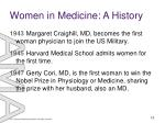 women in medicine a history12