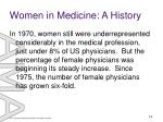 women in medicine a history14
