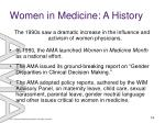 women in medicine a history16