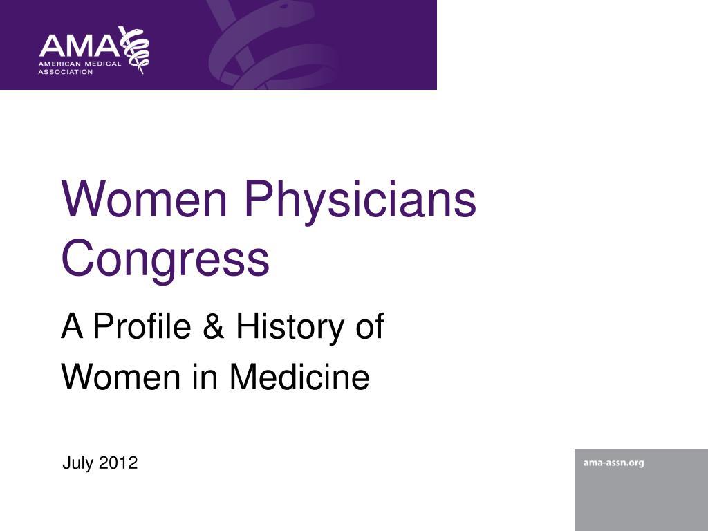 women physicians congress l.