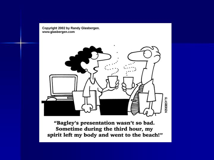 Effective presentations slides