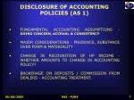 disclosure of accounting policies as 1