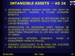 intangible assets as 26