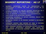 segment reporting as 17