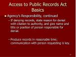 access to public records act basics29