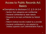 access to public records act basics30