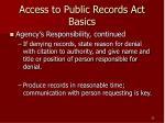 access to public records act basics25