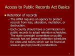 access to public records act basics31