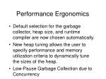 performance ergonomics