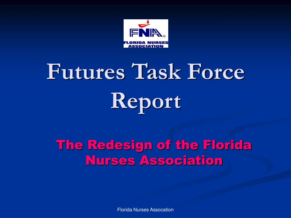 futures task force report l.