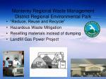 monterey regional waste management district regional environmental park